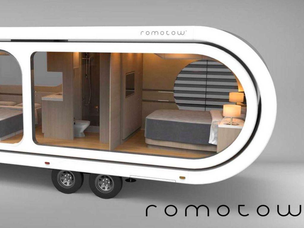 Mobil Caravan Berdesain seperti USB