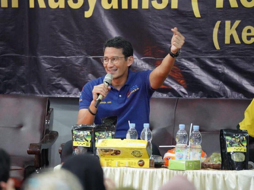 Sandiaga Anggap Pesan Hati-hati 2024 dari Jokowi untuk Merangkul Semua