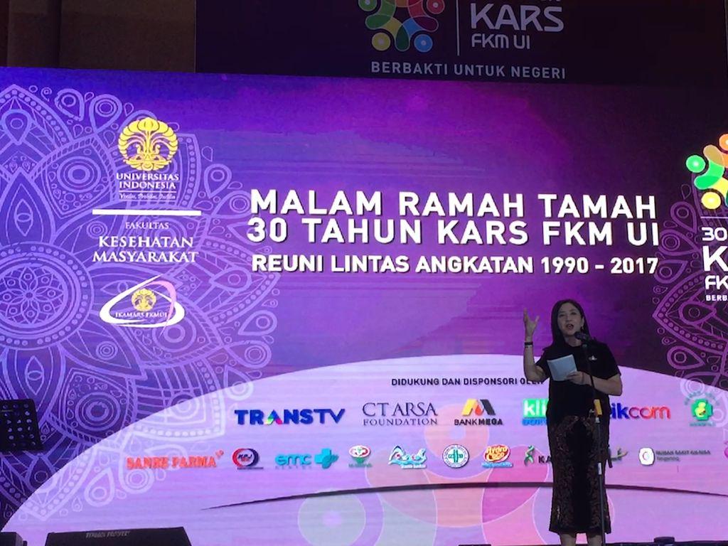 Reuni KARS FKM UI, Anita Tanjung Inginkan Inovasi di Dunia Kesehatan