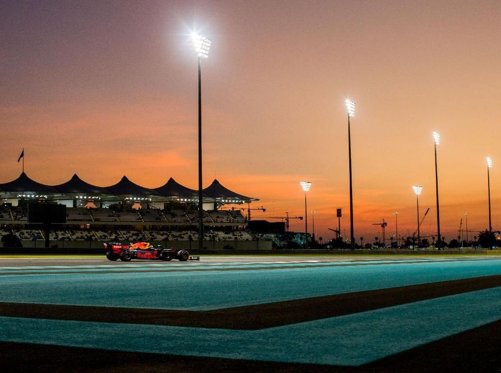Ungguli Duo Mercedes, Verstappen Tercepat di FP3 GP Abu Dhabi