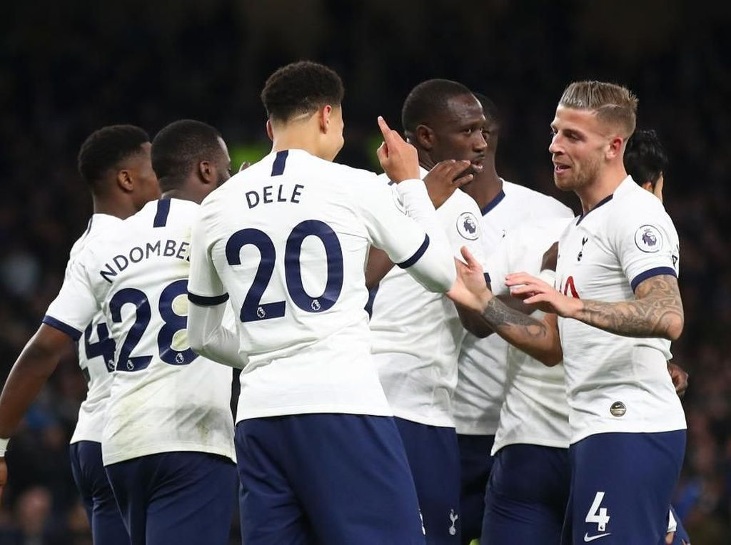 Tottenham Vs Bournemouth: Alli Dua Gol, Spurs Menang 3-2