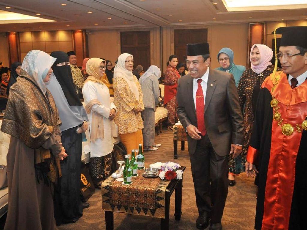 Menag Fachrul Razi Hadiri Wisuda PTIQ