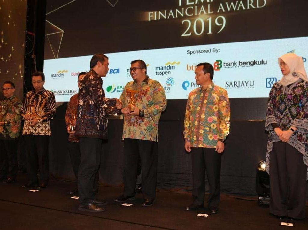 Bank DKI Raih Penghargaan Best Retail Banking Service