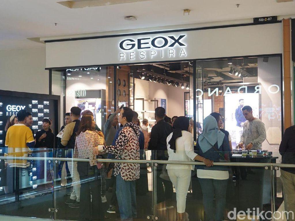 Geox Buka Gerai Terbarunya di Grand Indonesia