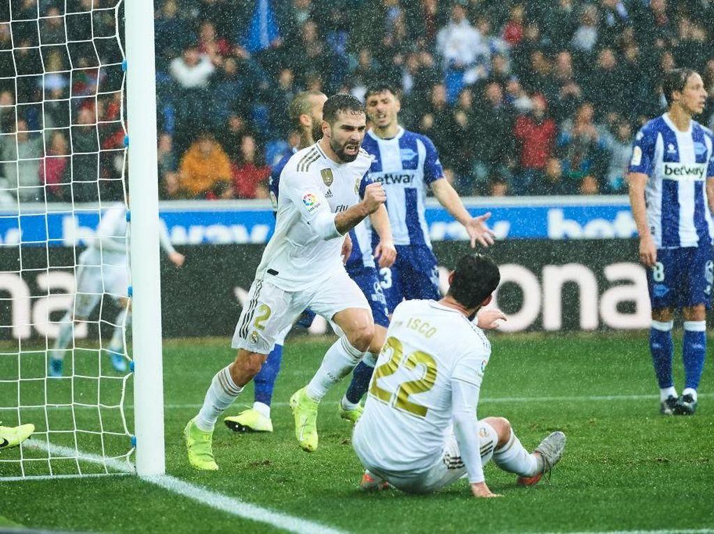 Alaves Vs Madrid: Menang 2-1, Los Blancos ke Puncak Klasemen