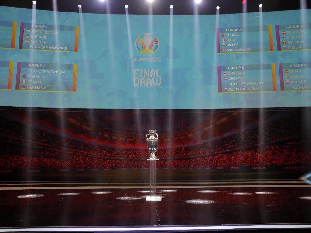 Drawing Piala Eropa 2020: Jerman, Prancis, dan Portugal Segrup