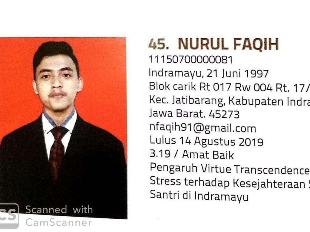 UIN Jakarta: Selamat Jalan Faqih, Allah Memanggilmu Sebelum Wisuda