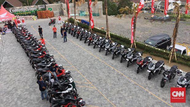 Honda Bikers Day (HBD) yang digelar PT Astra Honda Motor (AHM) di Ambarawa, Jawa Tengah.