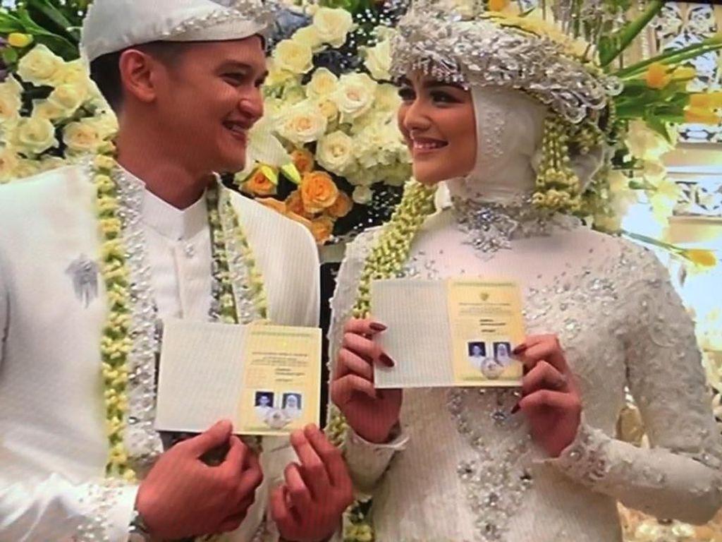 Citra Kirana dan Rezky Aditya Resmi Menikah