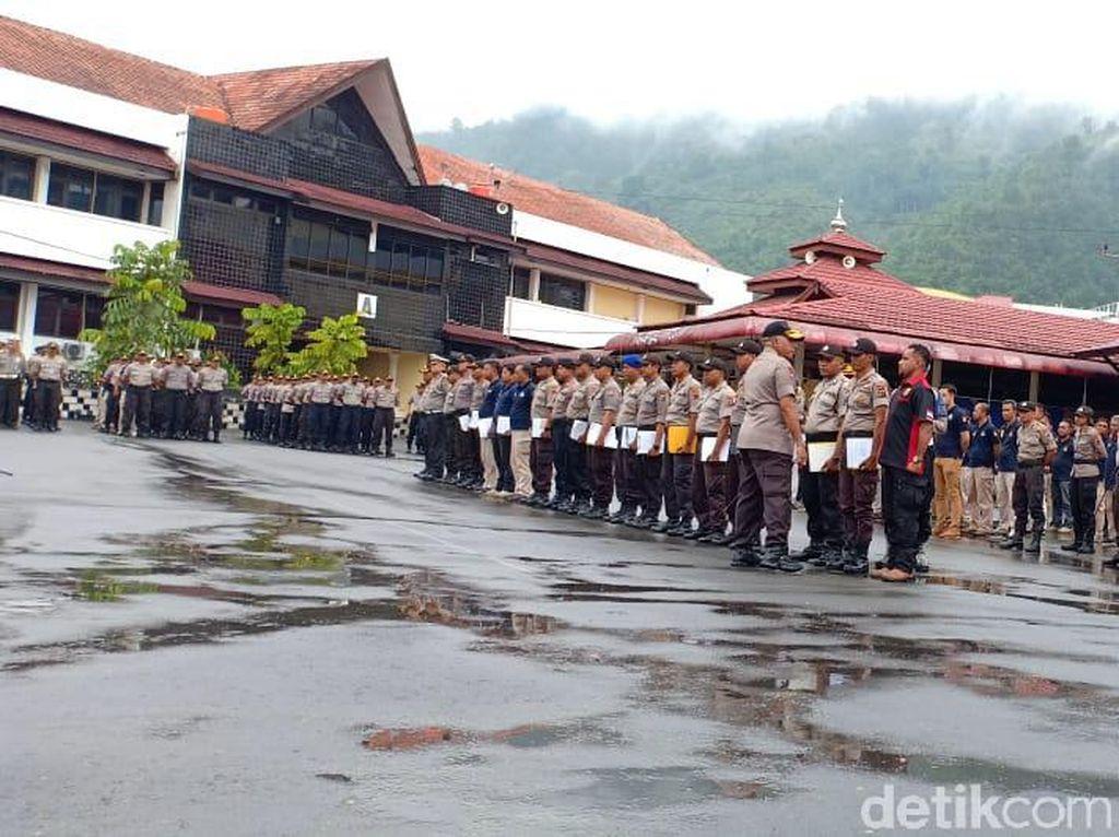 Kunjungi Polda Papua, Kapolri Idham Azis Beri Pengarahan ke Anggota