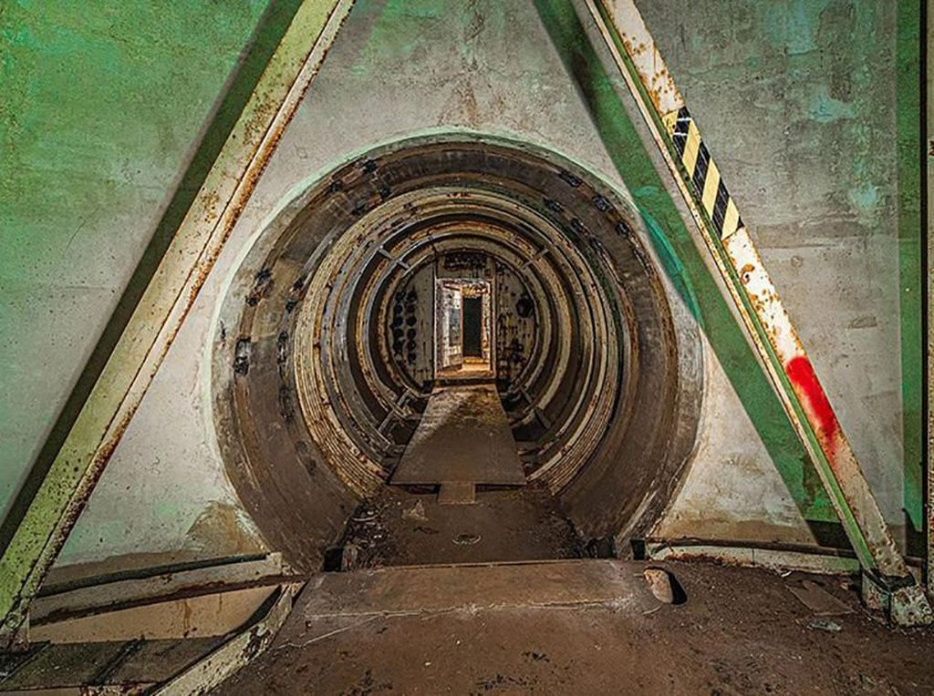 Bekas Bunker Senjata Nuklir Dijual Rp 5,5 M, Minat?