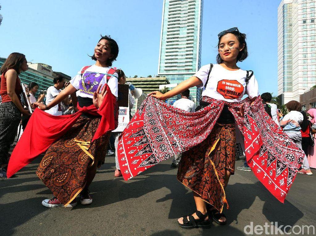 Tarian dan Teatrikal Kampanye 16 Hari Anti-Kekerasan Terhadap Perempuan