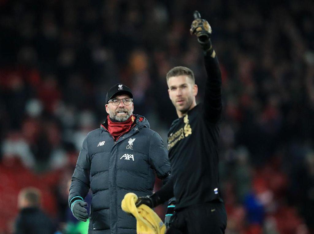 Klopp: Van Dijk Bukan Man of The Match, tapi Adrian