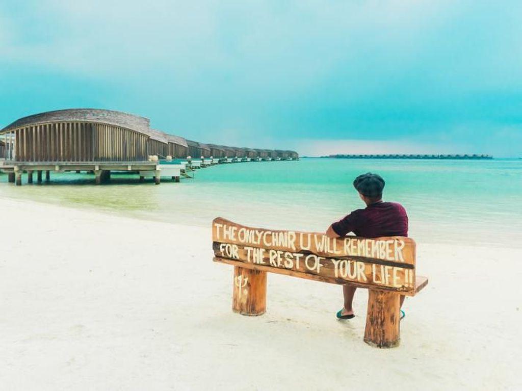Begini Rasanya Tidur di Resort Berkelas Maldives