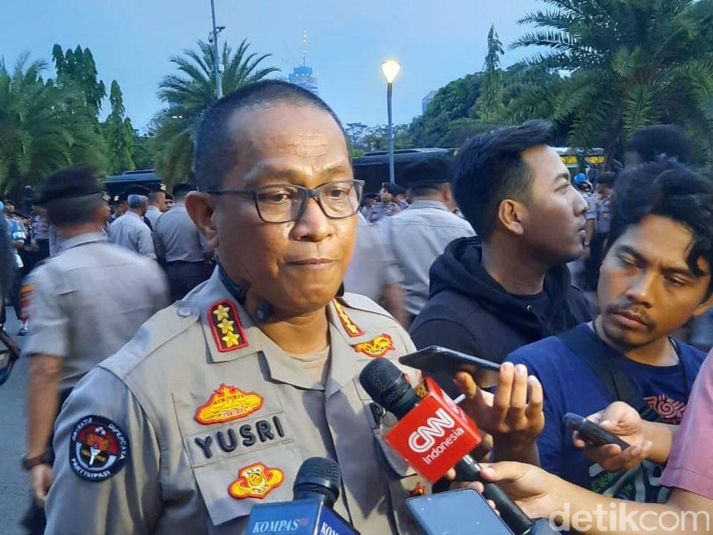 Usai Olah TKP Monas, Polisi Selidiki Serpihan yang Ditemukan di Lapangan