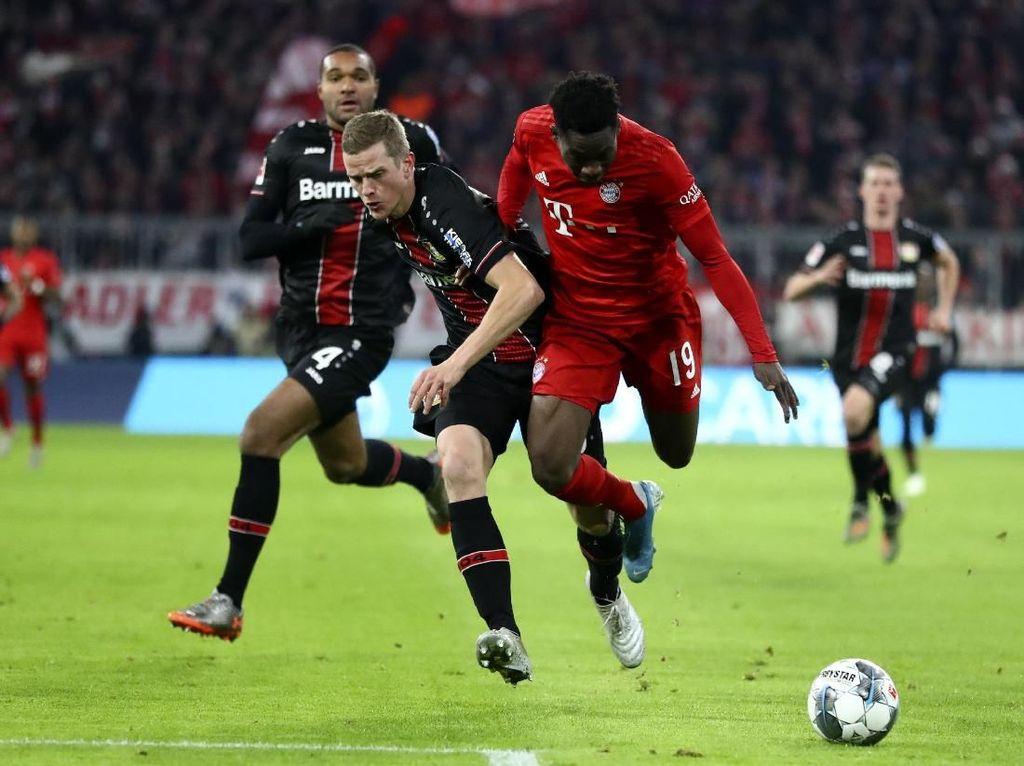 Hasil Liga Jerman: Bayern Ditumbangkan Leverkusen di Allianz Arena