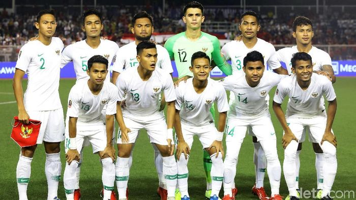 Timnas Indonesia tak punya waktu latihan cukup hadapi Laos (Grandyos Zafna/detikSport)