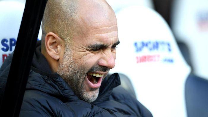 Manchester City semakin tercecer dari Liverpool usai ditahan Newcastle United. (Foto: Stu Forster / Getty Images)