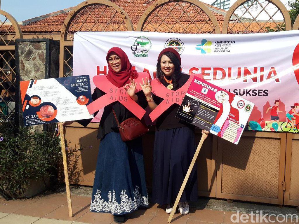 Perkumpulan Dokter dan Mahasiswa Kampanye Peringati Hari AIDS Sedunia