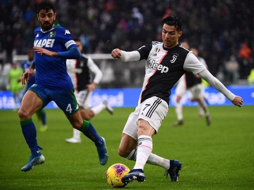 Juventus Vs Sassuolo: Penalti Ronaldo Selamatkan Bianconeri dari Kekalahan