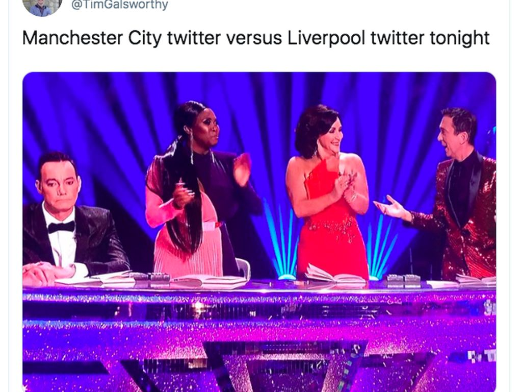 Keramaian di Medsos soal City Imbang Liverpool Menang