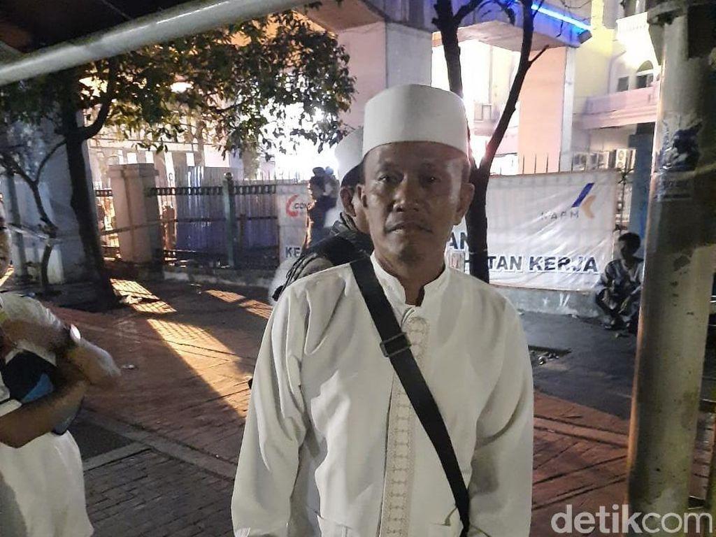 Sejumlah Massa ke Masjid Istiqlal Jelang Reuni 212