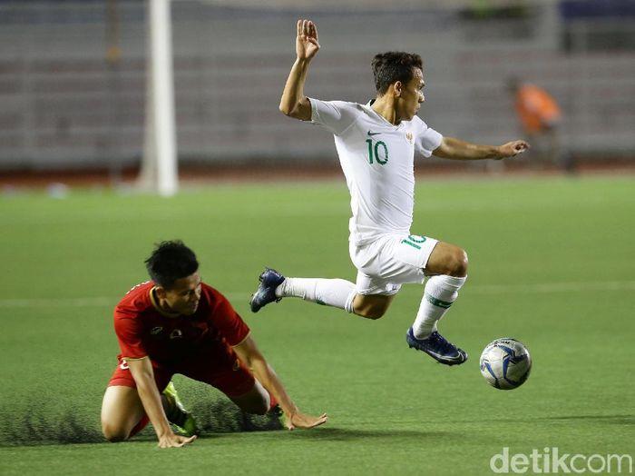 Indonesia harus lebih tajam saat melawan Vietnam di final SEA Games 2019. (Foto: Grandyos Zafna/detikcom)