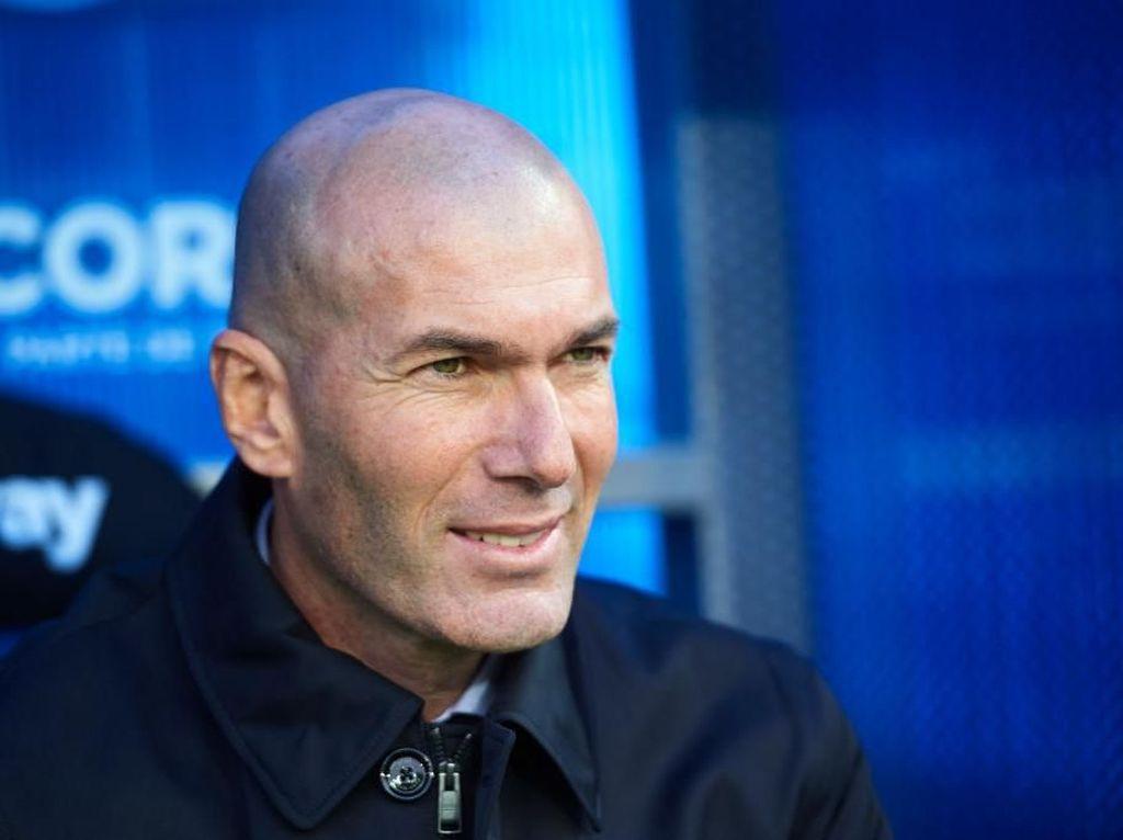 Zidane Enggan Berharap Apapun dari Laga Barcelona Vs Atletico