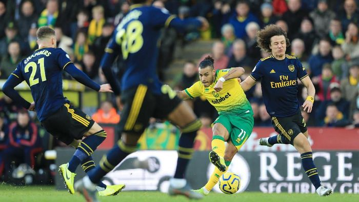 Norwich Redam Arsenal 2-2 di pekan ke-14 Liga Inggris. (Foto: Stephen Pond/Getty Images)