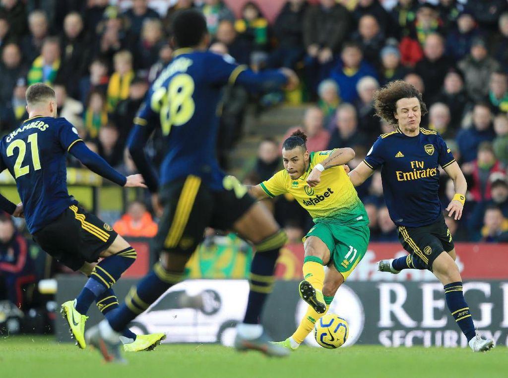 Ditahan Norwich 2-2, Arsenal Masih Belum Menang Usai Ganti Manajer