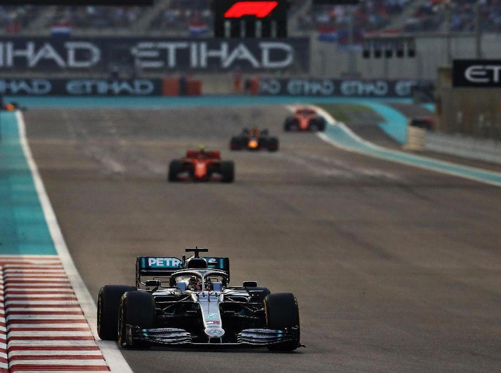Dominan, Lewis Hamilton Juara GP Abu Dhabi