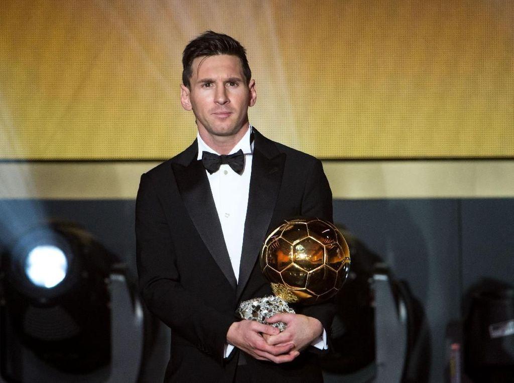Peringkat Ballon dOr Bocor: Messi Teratas, Diikuti Van Dijk dan Salah