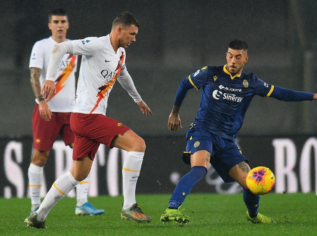 Roma Menang 3-1 di Markas Verona