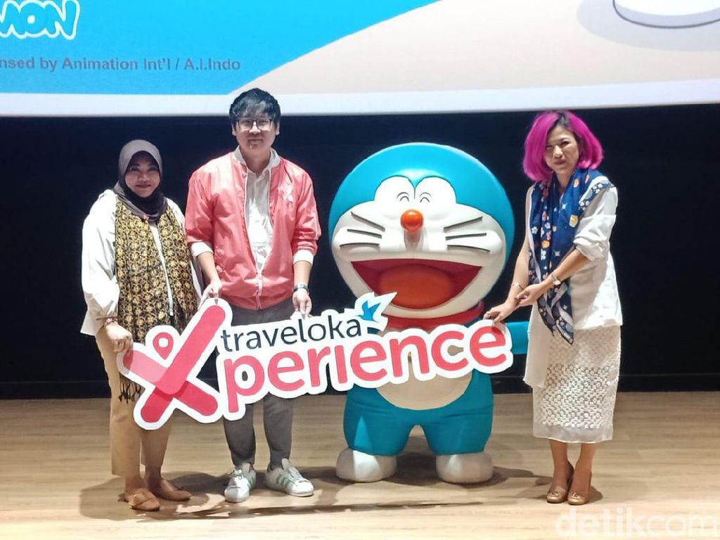 Ini Ragam Promo Bertema Doraemon dari Traveloka Xperience