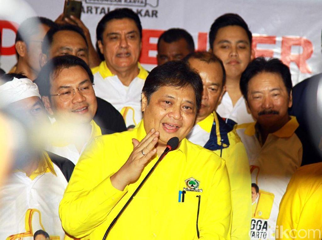 Amali hingga Ahmad Doli Bantu Airlangga Susun Pengurus Golkar 2019-2024