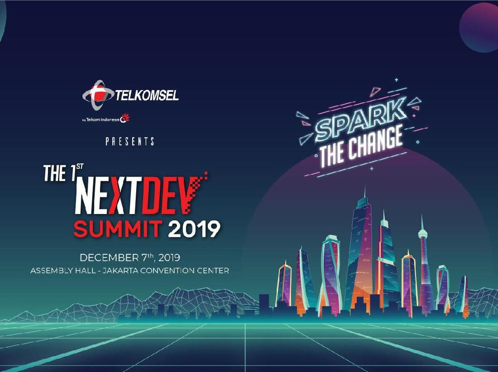 Telkomsel The NextDev Summit 2019 Luber Pembicara Top