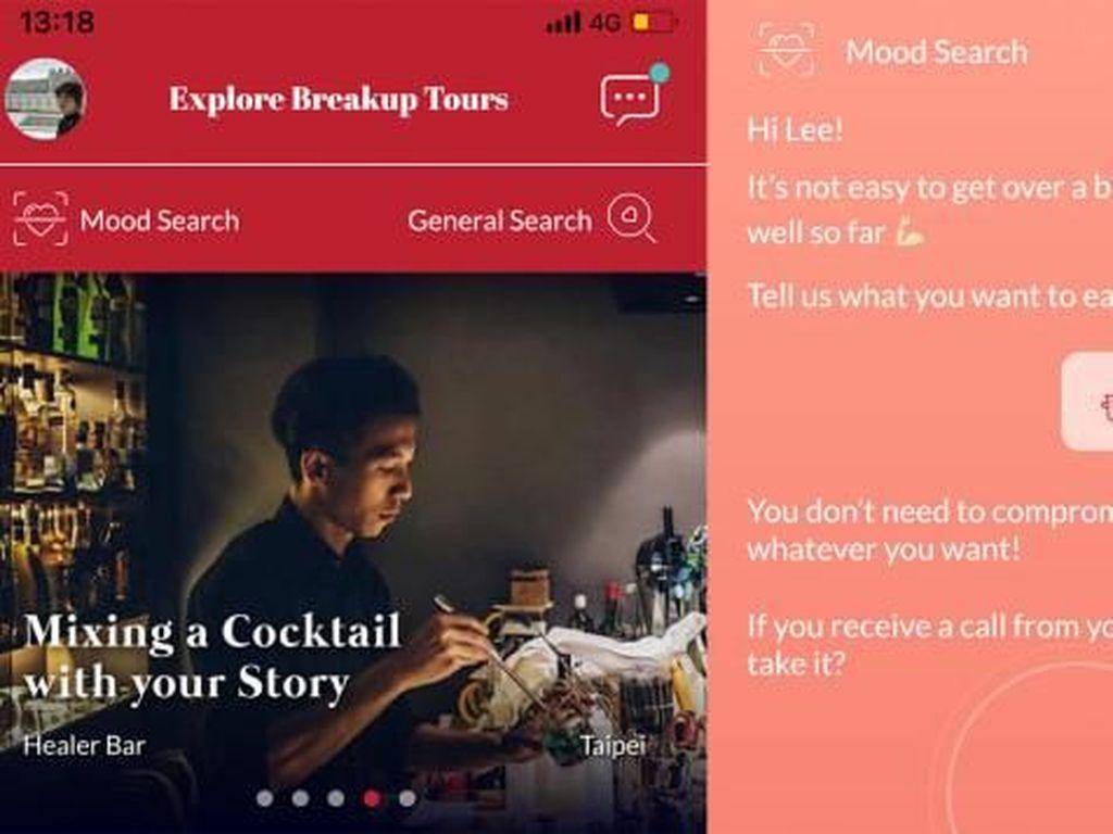 Ada Aplikasi Traveling Khusus buat yang Lagi Patah Hati