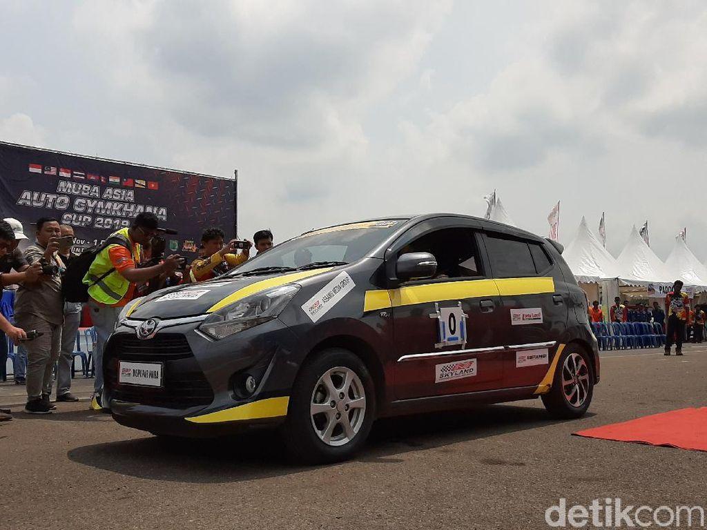 Dua Pebalap Indonesia Naik Podium Asia Auto Gymkhana