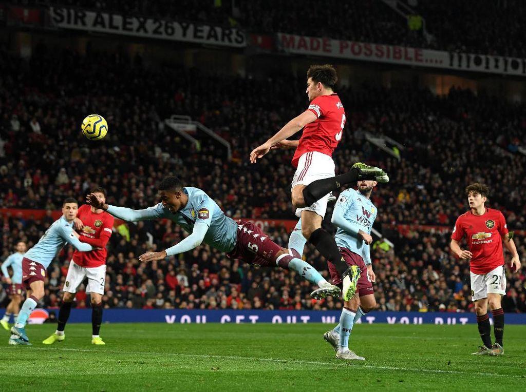 MU Vs Aston Villa: Setan Merah Ditahan Imbang 2-2 di Old Trafford