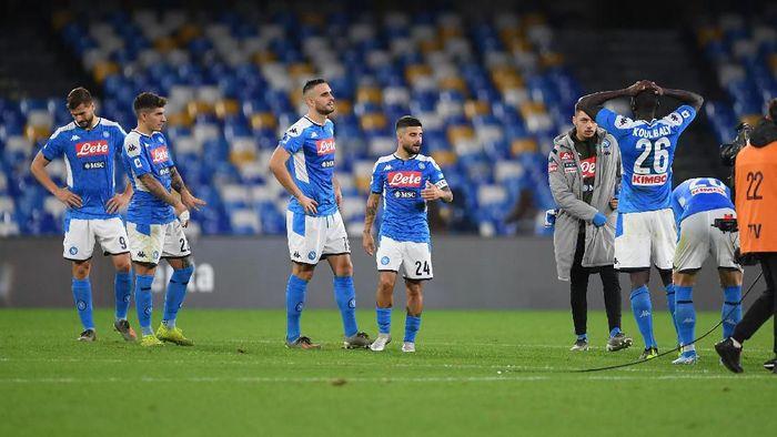 Puasa kemenangan Napoli berlanjut usai dikalahkan Bologna di Liga Italia (Foto: Francesco Pecoraro/Getty Images)