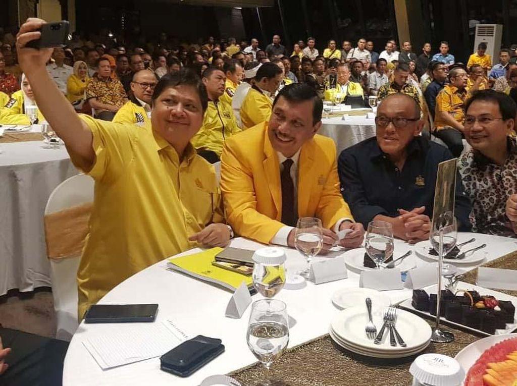 Senior Partai Golkar Hadiri Malam Silaturahmi