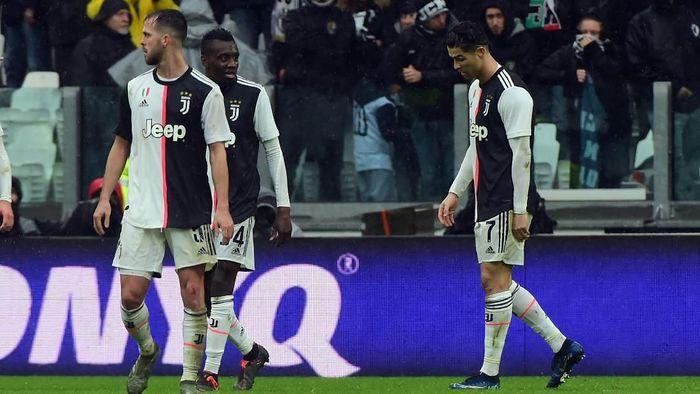 Juventus ditahan Sassuolo 2-2 di pekan ke-14 Liga Italia. (Foto: Marco Tacca Getty Images)