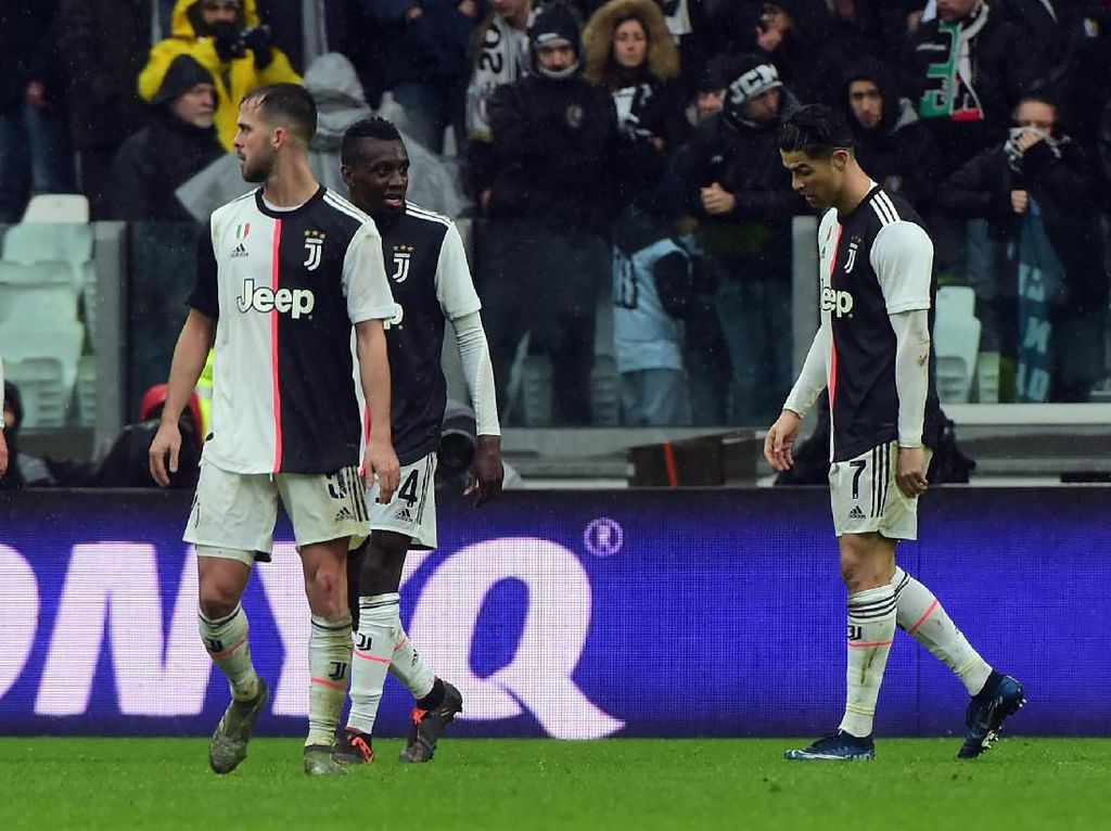 Juventus Akhirnya Tersandung di Kandang