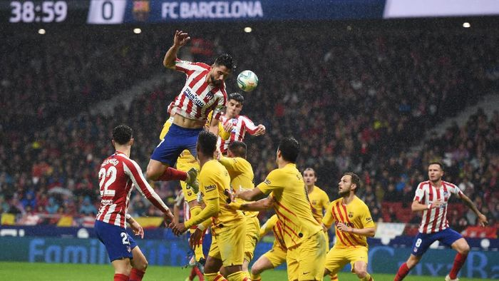 Atletico kalah 0-1 dari Barcelona di Wanda Metropolitano. (Foto: Denis Doyle/Getty Images)
