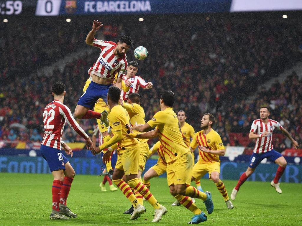 Piala Super Spanyol: Atletico Abaikan Rekor Buruk Lawan Barcelona