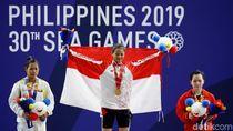 Bintang SEA Games: Windy Cantika Tandai Debut dengan Emas dan 3 Rekor