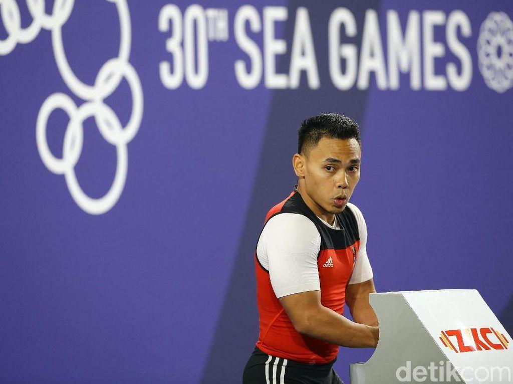 Eko Yuli Puas Banget Rebut Emas SEA Games Lagi