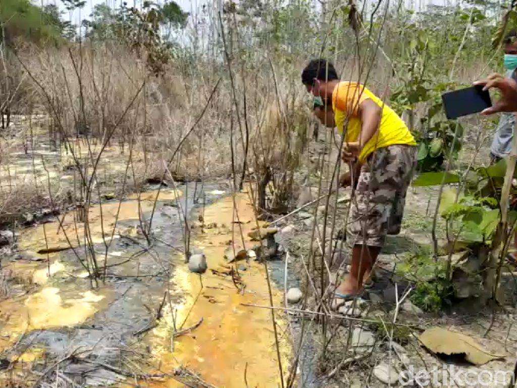Limbah Beracun Cemari Pekarangan di Brebes, DLH Temukan Segel Perusahaan
