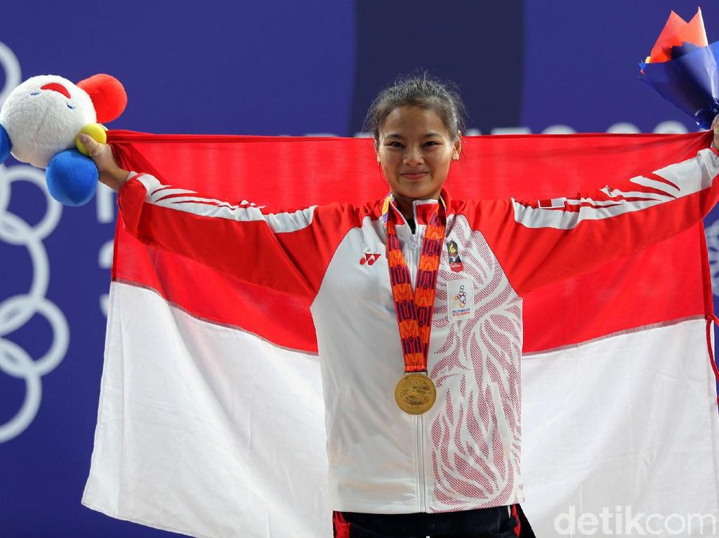 Menuju Kualifikasi Olimpiade, Lifter Windy Ditarget Samai Hasil SEA Games 2019