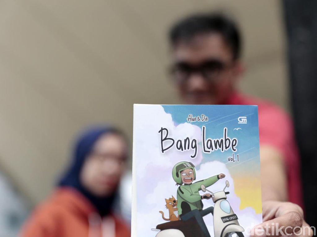 Bermula Iseng, Berbuah Jadi Karya Komik Onlen Bang Lambe